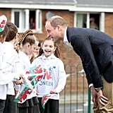 Prince William With Kids in Wales March 2017