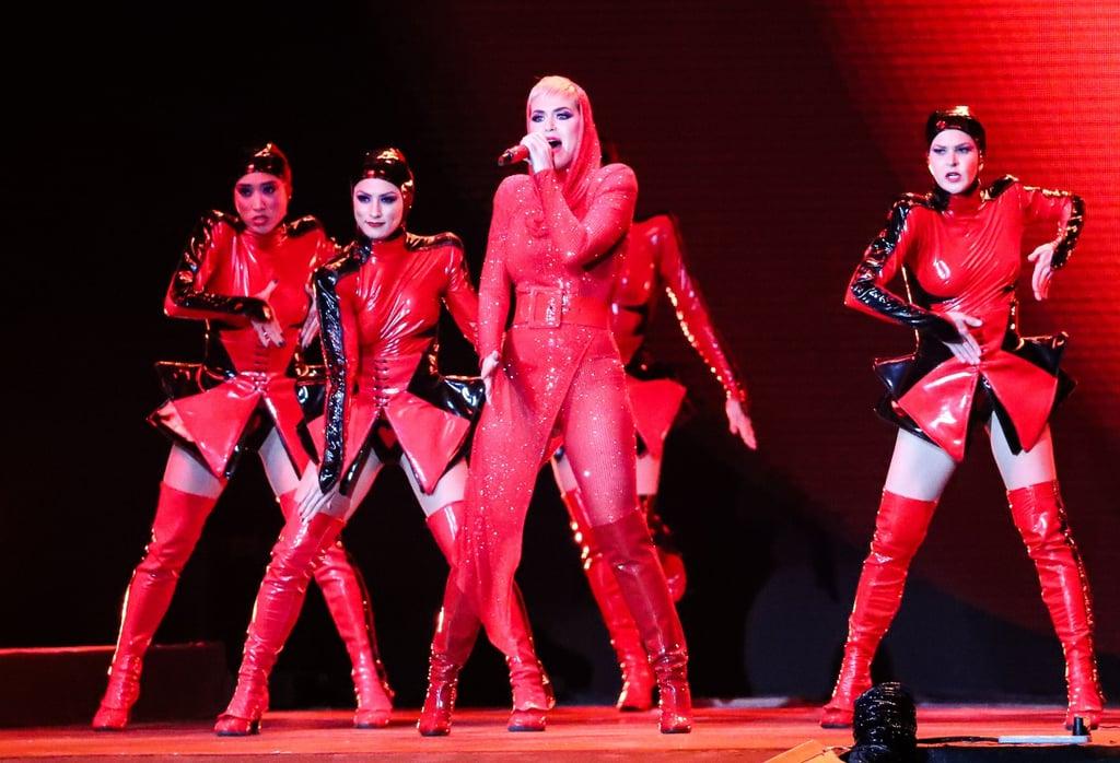 Katy Perry Celebrates New Year's in Abu Dhabi