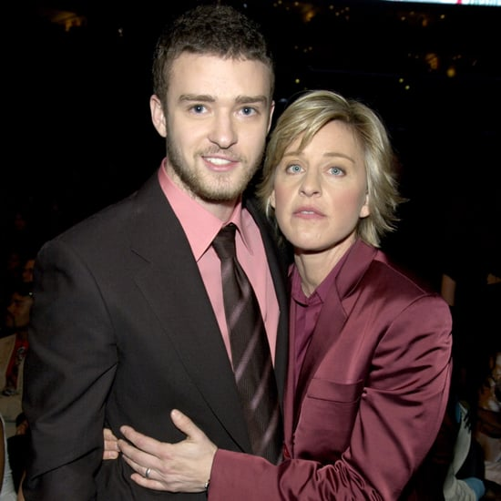 Justin Timberlake and Ellen DeGeneres Cutest Pictures