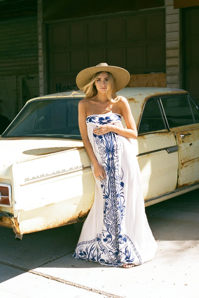 5f6018096faf This Fillyboo Papillon Embroidered Strapless Maxi Dress ($189) is  synonymous with Summer, and