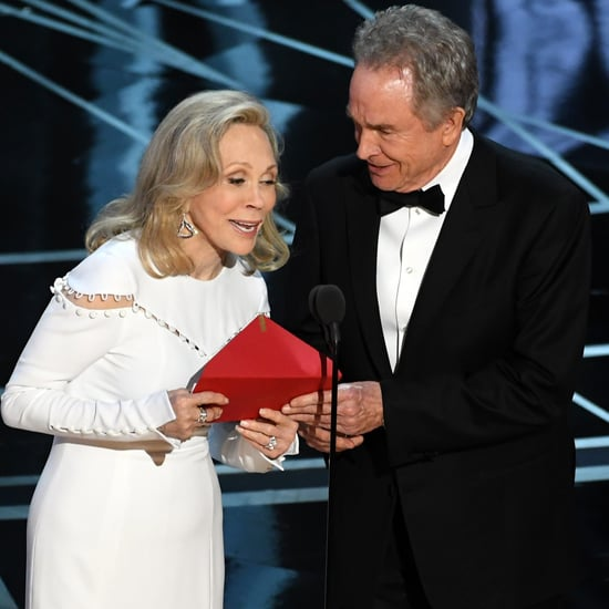 Faye Dunaway and Warren Beatty Presenting at 2018 Oscars