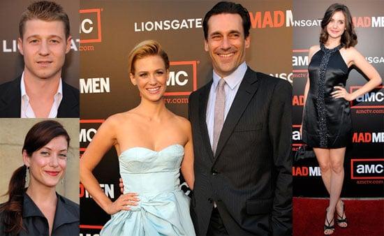 Photos of Cast of Mad Men, January Jones, Jon Hamm at Season Two Mad Men Premiere