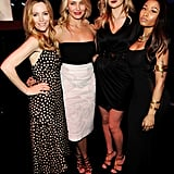 Leslie Mann, Cameron Diaz, Kate Upton, and Nicki Minaj at the MTV Movie Awards