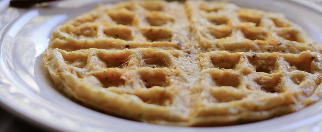 The Simplest, 2-Ingredient Keto Waffle Recipe