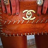 Lucky Dree Hemingway got her hands on some serious Chanel. Source: Instagram user dreelouise
