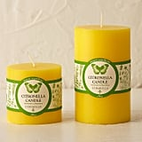 Classic Citronella Pillar Candle ($14)