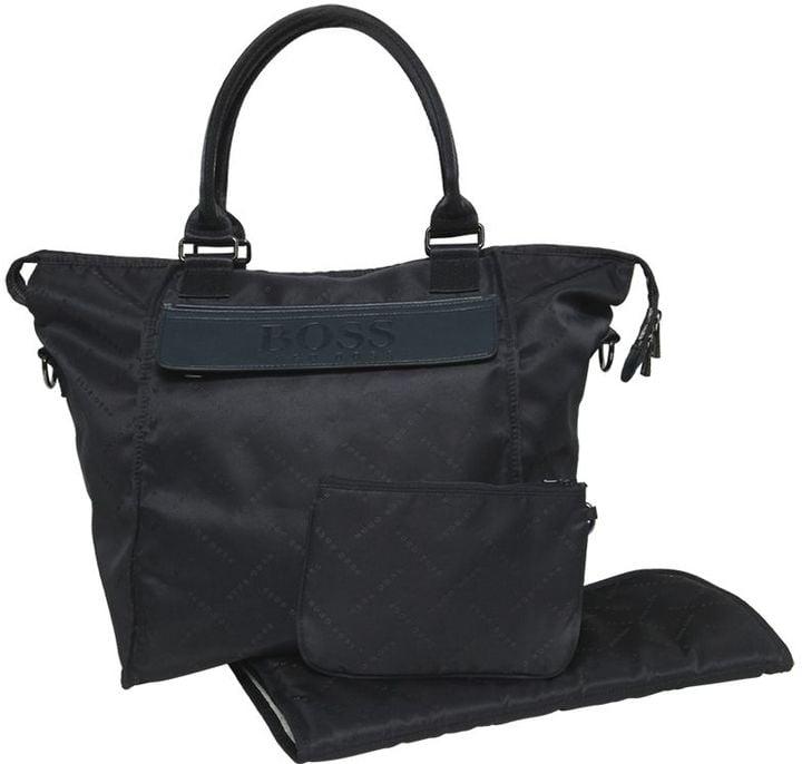 Hugo Boss Satin Diaper Bag