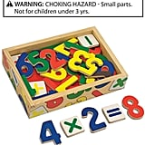 Melissa & Doug Kids Toy, Magnetic Wooden Numbers