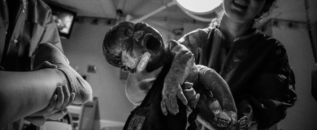 Mom Photographs Her Own Son's Birth