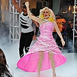 Meredith Vieira as Lady Gaga in 2010