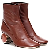 Loewe Leather Ankle Boots