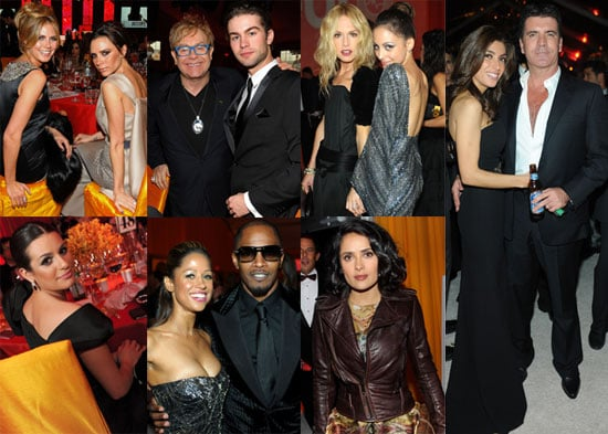 Photos of Nicole Richie, Heidi Klum, Victoria Beckham, Simon Cowell,and More at Elton John's 18th Annual AIDS Foundation Oscars 2010-03-08 14:30:55