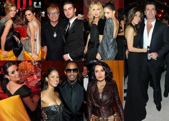 Photos of Nicole Richie, Heidi Klum, Victoria Beckham, Simon Cowell,and More at Elton John's 18th Annual AIDS Foundation Oscars 2010-03-08 14:30:55