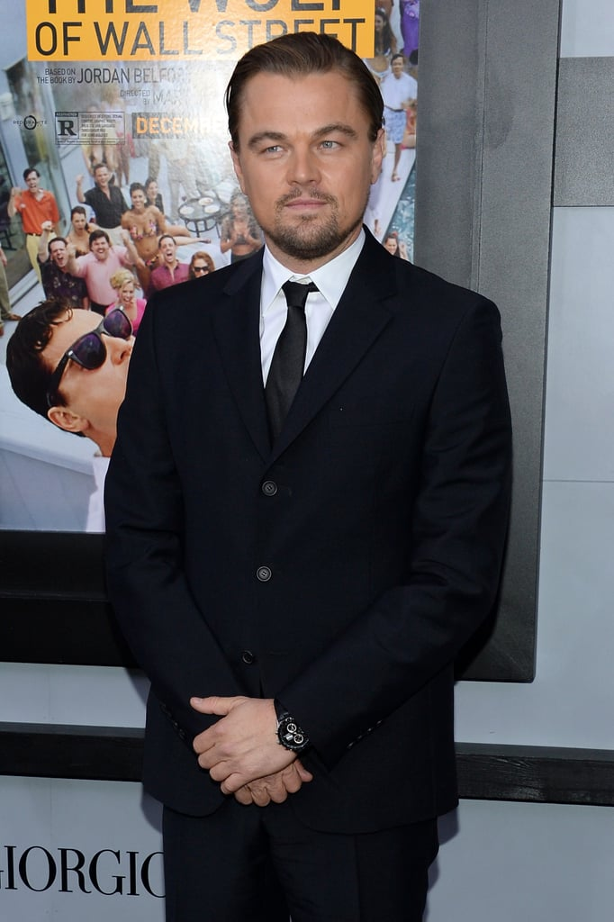 Leonardo DiCaprio attended the premiere of The Wolf of Wall Street in NYC.
