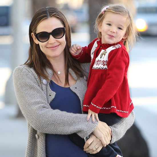 Jennifer Garner and Seraphina Christmas Sweater Pictures