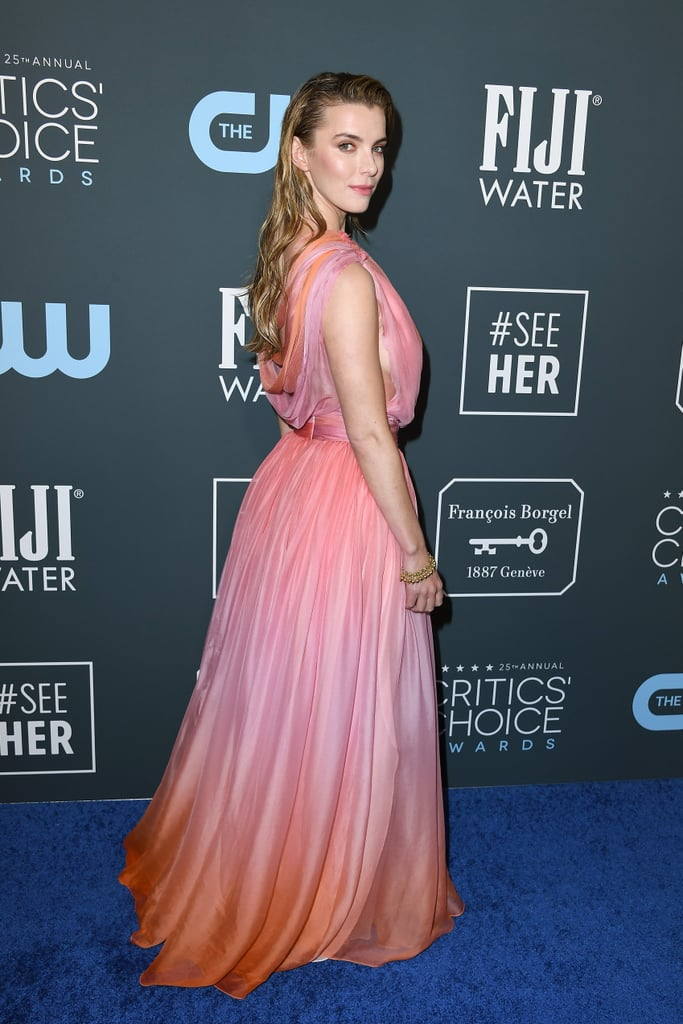 Betty Gilpin at the 2020 Critics' Choice Awards