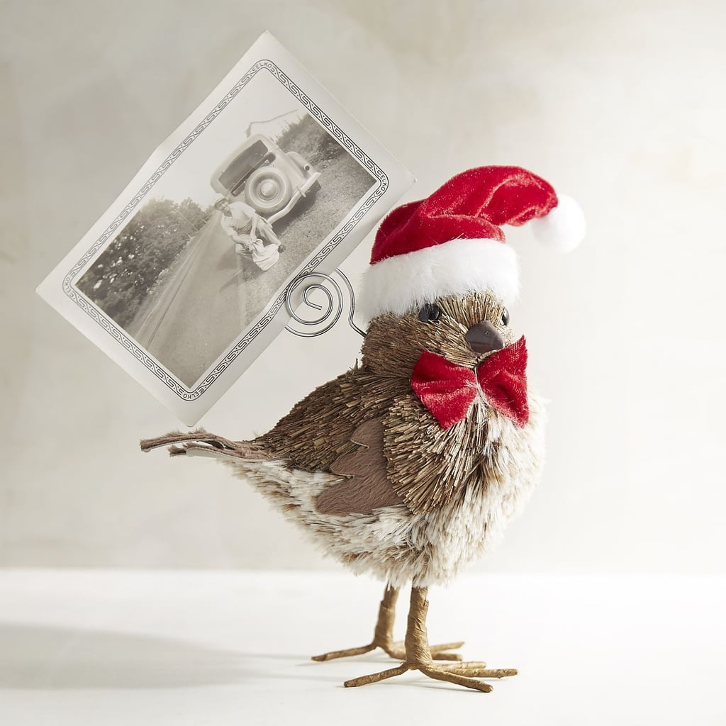 Santa Birdie Photo Holder ($12, originally $15)