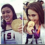 McKayla Maroney and Kyla Ross