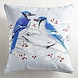 Winter Jays Pillow ($35)