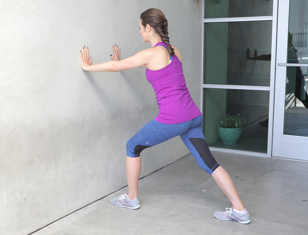 Wall Stretch | Best IT Band Exercises | POPSUGAR Fitness ...