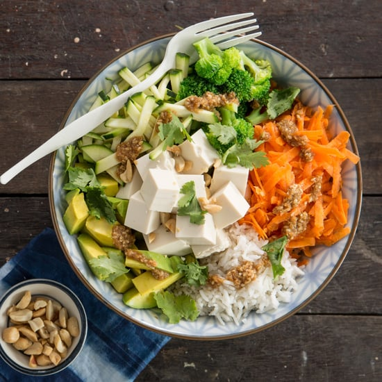 Thai Tofu Buddha Bowl Recipe