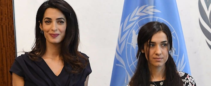 Amal Clooney and Nadia Murad Want to Stop ISIS's Genocide