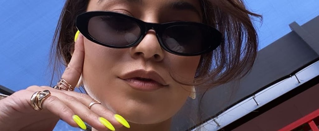 Vanessa Hudgens's Dandelion-Yellow Nail Polish Colour