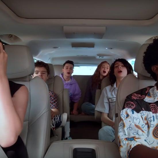 Stranger Things Cast Carpool Karaoke: The Series Video