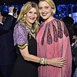 Laura Dern and Greta Gerwig at the 2019 LACMA Art+Film Gala