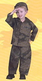 Army Toddler Halloween Costume ($25)