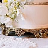 Ornate Golden Cake Stand