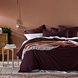 Home Republic Bamboo Linen Wine Quilt Cover