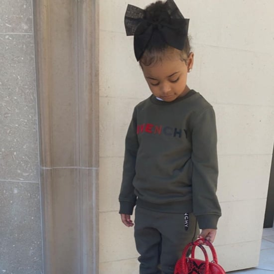 Stormi and Kulture Wear Designer Outfits on Instagram