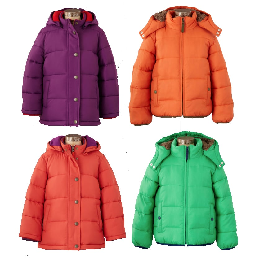 Mini Boden Padded Coats