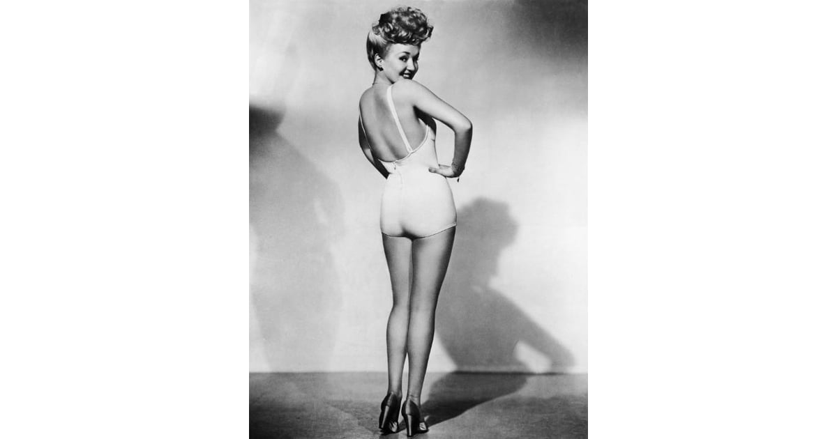 Betty Grable Vintage Summer Style Ideas Popsugar