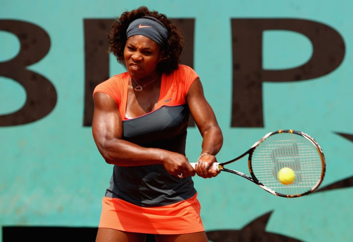 Color Block Wild Tennis Outfits From Venus Williams And