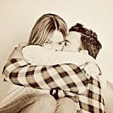 """Lauren Conrad celebrated her second anniversary with fiancé William Tell on Valentine's Day. """"I love you dearly,"""" she wrote in the caption. Source: Instagram user laurenconrad"""