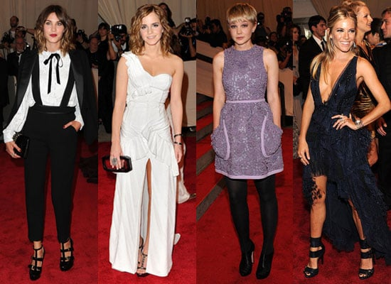 Photos of Met Costume Institute Gala Red Carpet Including Kristen Stewart, Sienna Miller, Emma Watson and More British Celebs