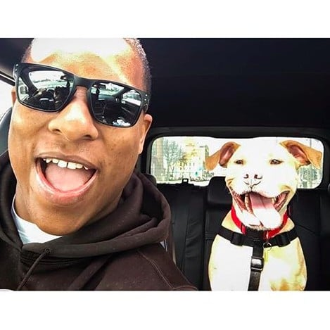 NFL Player Terrell Watson Adopts Pit Bull