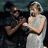 Kanye West famously interrupted Taylor Swift's acceptance speech at the beginning of the 2009 show.
