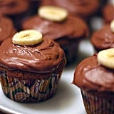 Chocolate-Banana Cupcakes With Dulce de Leche Filling