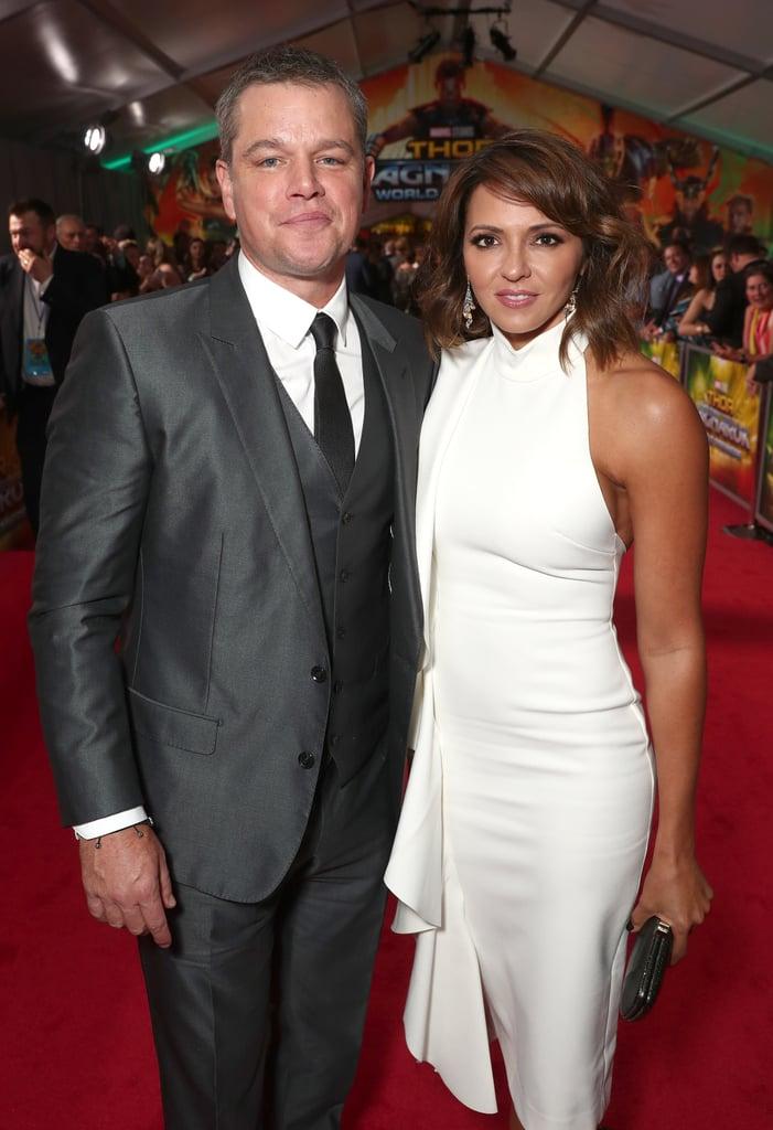 Matt Damon at Thor Premiere After Harvey Weinstein Scandal