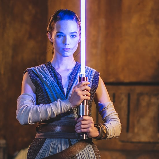 "Disney Unveils ""Real"" Lightsaber at Galactic Starcruiser"