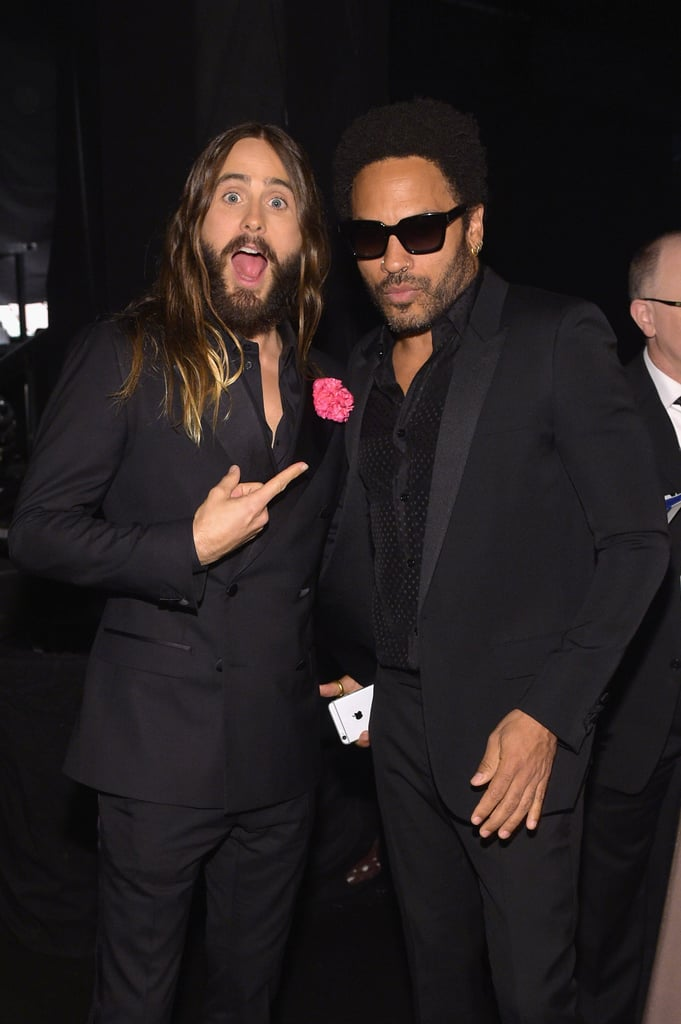 Jared Leto and Lenny Kravitz