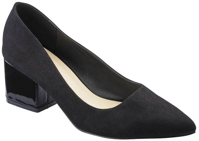 Sole Diva Block Heel Court Shoes E Fit ($43)