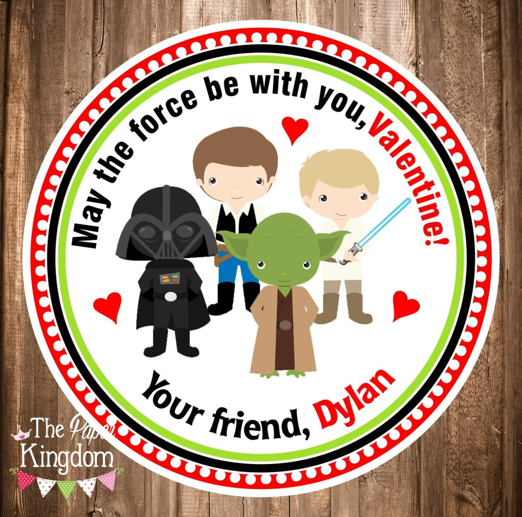Star Wars Valentine's Day Stickers