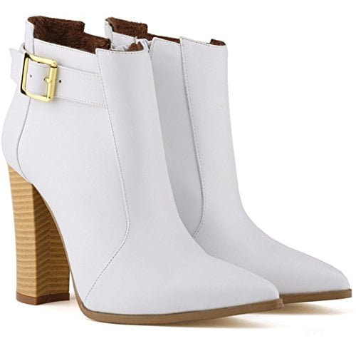 LoveBeauty Stiletto Ankle Boots
