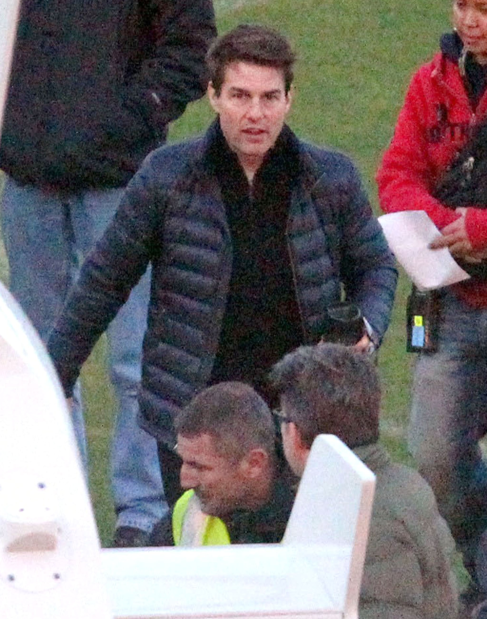 Tom Cruise Preps For a Work and Personal Trip to NYC