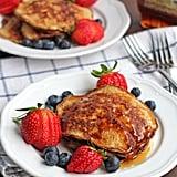 Paleo Banana Coconut Pancakes