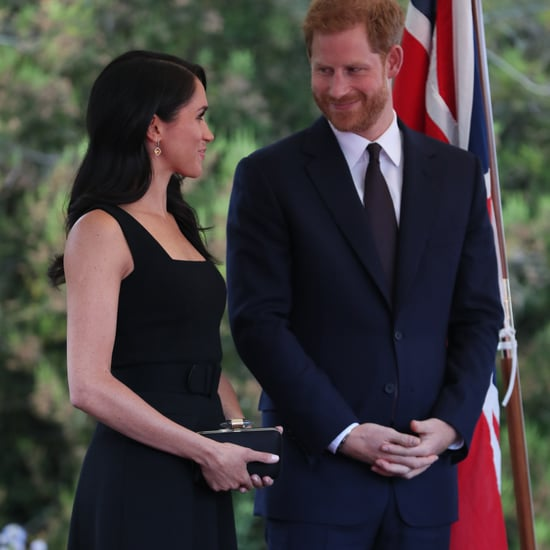 Meghan Markle Black Emilia Wickstead Dress